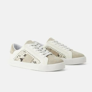 Zara Trafaluc Animal Print Sneakers